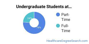 Full-Time vs. Part-Time Undergraduate Students at  The Graduate Center