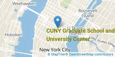 Location of The Graduate Center, CUNY
