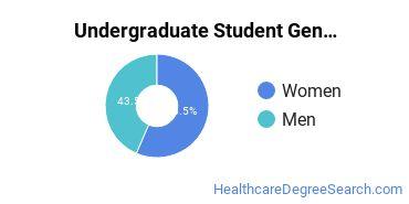 Undergraduate Student Gender Diversity at  GSCC