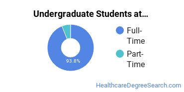 Full-Time vs. Part-Time Undergraduate Students at  MMC Conway
