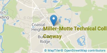 Location of Miller-Motte College Conway