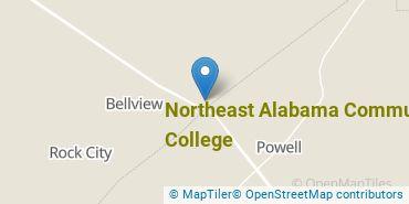 Location of Northeast Alabama Community College