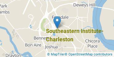 Location of Southeastern Institute - Charleston