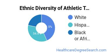 Athletic Training Majors in NV Ethnic Diversity Statistics