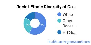 Racial-Ethnic Diversity of Cardiopulmonary Technology/Technologist Students with Bachelor's Degrees