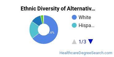 Alternative Medicine & Systems Majors in CO Ethnic Diversity Statistics