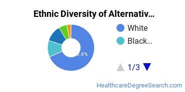 Alternative Medicine & Systems Majors in CT Ethnic Diversity Statistics