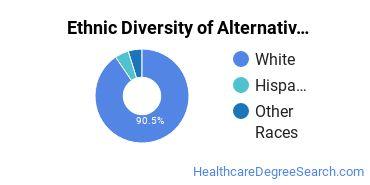 Alternative Medicine & Systems Majors in NJ Ethnic Diversity Statistics