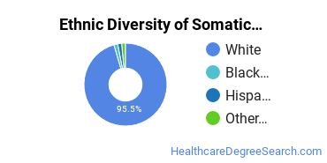 Bodywork & Therapeutic Services Majors in ME Ethnic Diversity Statistics