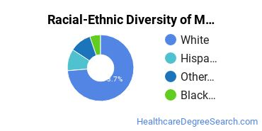 Racial-Ethnic Diversity of Massage Therapy/Therapeutic Massage Students with Bachelor's Degrees