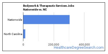 Bodywork & Therapeutic Services Jobs Nationwide vs. NC