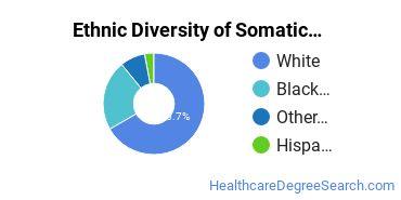 Bodywork & Therapeutic Services Majors in OH Ethnic Diversity Statistics