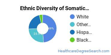 Bodywork & Therapeutic Services Majors in RI Ethnic Diversity Statistics
