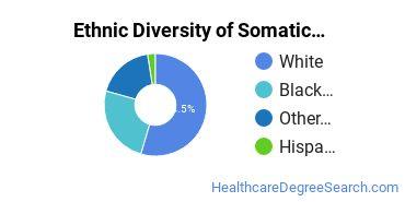 Bodywork & Therapeutic Services Majors in TN Ethnic Diversity Statistics