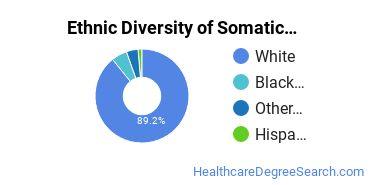 Bodywork & Therapeutic Services Majors in WV Ethnic Diversity Statistics