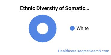 Bodywork & Therapeutic Services Majors in WY Ethnic Diversity Statistics