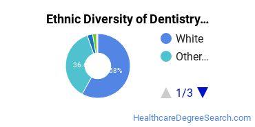 Dentistry Majors in MN Ethnic Diversity Statistics