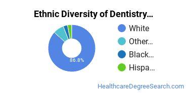 Dentistry Majors in SC Ethnic Diversity Statistics