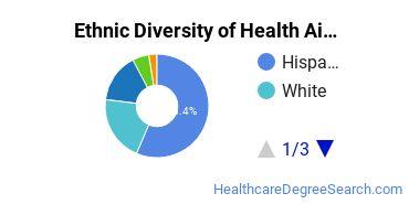 Health Aids & Attendants Majors in AZ Ethnic Diversity Statistics