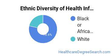Health Information Management Majors in AL Ethnic Diversity Statistics