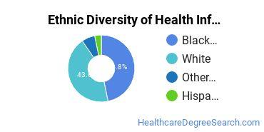 Health Information Management Majors in GA Ethnic Diversity Statistics