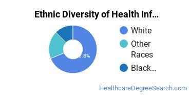 Health Information Management Majors in KS Ethnic Diversity Statistics