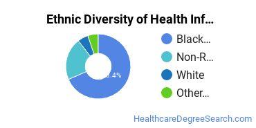 Health Information Management Majors in MD Ethnic Diversity Statistics