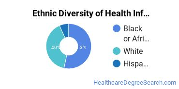 Health Information Management Majors in MS Ethnic Diversity Statistics