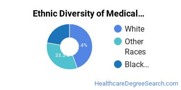 Medical Office Assistant/Specialist Majors in KY Ethnic Diversity Statistics