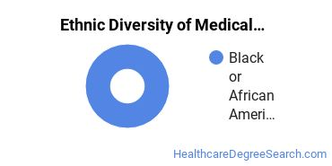 Medical Staff Services Technician Majors in IN Ethnic Diversity Statistics