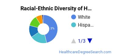 Racial-Ethnic Diversity of Health Studies Students with Bachelor's Degrees