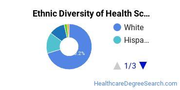 Health Sciences & Services Majors in ID Ethnic Diversity Statistics