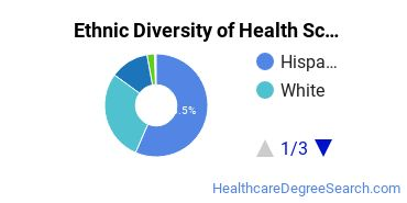 Health Sciences & Services Majors in NM Ethnic Diversity Statistics