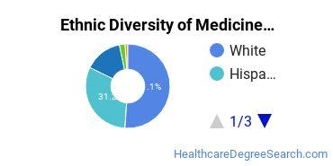 Medicine Majors in NM Ethnic Diversity Statistics