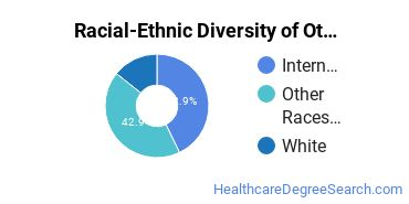 Racial-Ethnic Diversity of Other Ophthalmic and Optometric Support Services and Allied Professions Students with Bachelor's Degrees