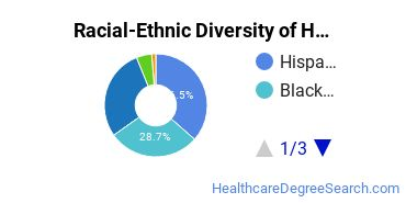 Racial-Ethnic Diversity of Health Services Administration Associate's Degree Students