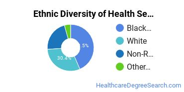 Health Services Administration Majors in MS Ethnic Diversity Statistics