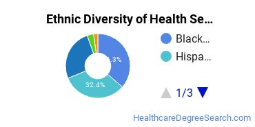 Health Services Administration Majors in NY Ethnic Diversity Statistics
