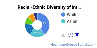 Racial-Ethnic Diversity of International Public Health/International Health Students with Bachelor's Degrees