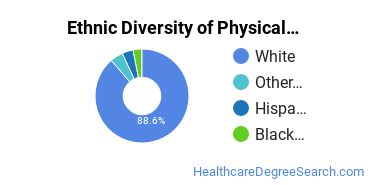 Physical Therapy Majors in TN Ethnic Diversity Statistics